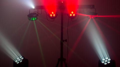 bei Trusted DJ effektvolles Disco-Lichtset mieten
