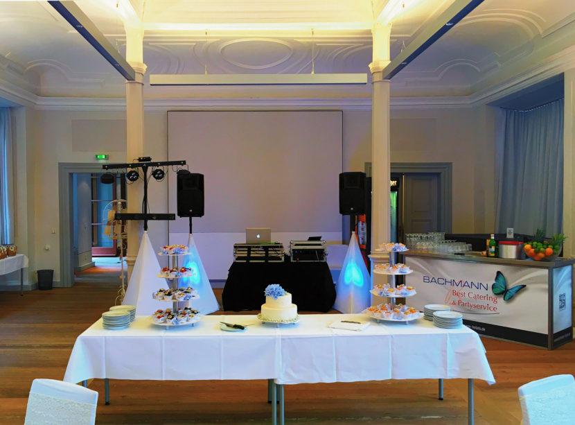 Beispiel für das Trusted DJ Equipment für eine Hochzeit